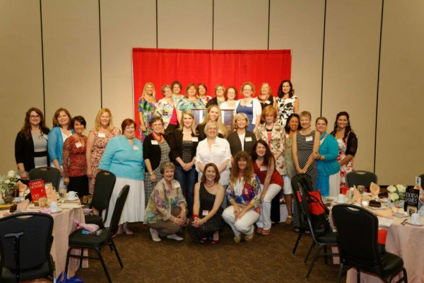 And finally, our author group. Quite a few of us there! Do you recognize anyone else?
